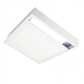Kit de montaje del Bastidor del panel del led 60x60 modelo de Color Blanco Soportes