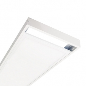 Kit Frame mounting led panel 120x30 white trim