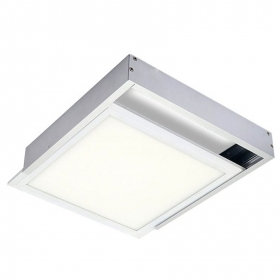 Kit Frame mounting led panel 30x30 Brackets closed Wall and Ceiling Bracket