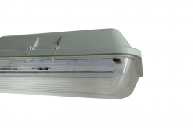 Ceiling light Led pond 150cm 2x24w tubes, replaceable