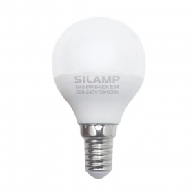 - Led bulb E14 6w miniglobo G45 220v step small attack LE14-1-6W