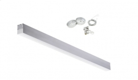 Led surface-mounted luminaire suspension 24W included steel cable PI-3-24W