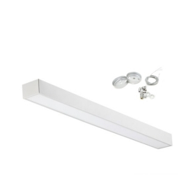 Led surface-mounted luminaire suspension 48W included steel cable