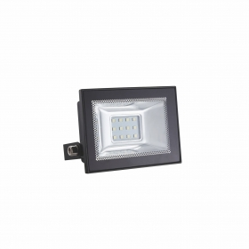 Faro LED MINI 10W Super Slim Da Esterno e Interno incluso Led ip65 versione Nero