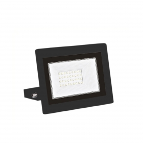 Faro LED 30W Ultra Slim Fari per esterno e interno con Led lampada Nero