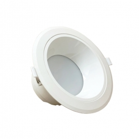 Projecteur Led downlight à led 30W blanc et rond sans conducteur diamètre 229mm Fi39-30W