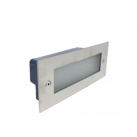 Spotlight path light Led 8w, Rectangular, wall recessed smd 2835 FC2-8W