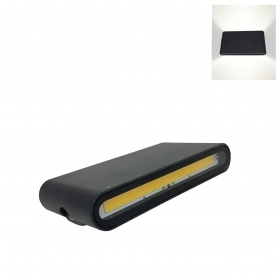 Led lamp with double light 12w
