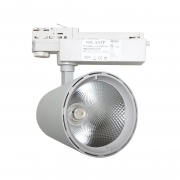 Faretto LED a binario 40W Trifase illuminazione a binario led faro COB FB-3-40W