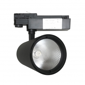 LED spotlight rail 40w three-Phase track lighting led headlight COB-FB-4-40W