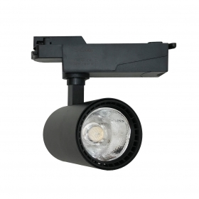 LED spotlight rail, 20w single