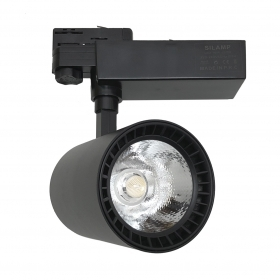 Faretto LED a binario 40W Trifase illuminazione a binario led faro FB-15