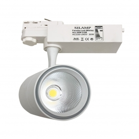 Faretto LED a binario 30W Trifase illuminazione a binario led faro COB FB-5-30W
