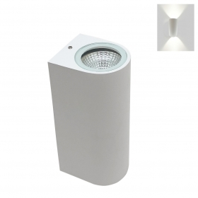 Led lamp with double light applique Led 6W wall-mounted 230v led cob x