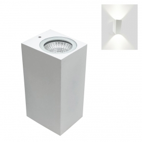 Led lamp with double light applique Led 6W wall-mounted 230v led cob