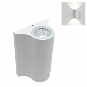 Led lamp with double light wall sconce with Led 12W wall-mounted 230v led cob