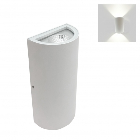 Led lamp with double light wall sconce with Led 10W wall-mounted 230v led cob
