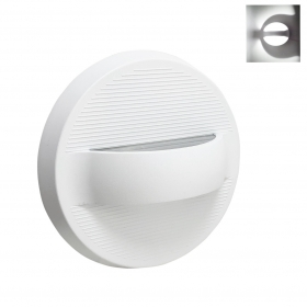 Led lamp wall sconce 7W white disc shape light on the Wall application, Internal and External
