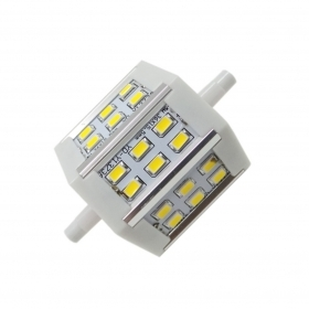 Lampadina r7s led 6W 78mm 18 l