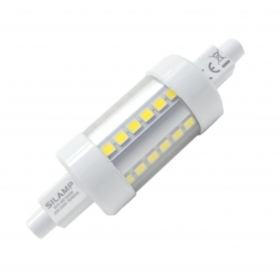 Bombilla r7s led 5W 78mm 36 le