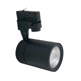 LED spotlight Black rail, 30W three-Phase headlight super compact COB-FB-21-30W