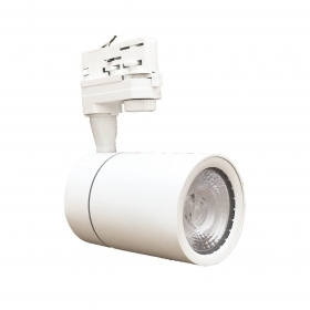 Faretto LED Bianco a binario 30W Trifase faro super compatto COB FB-23-30W