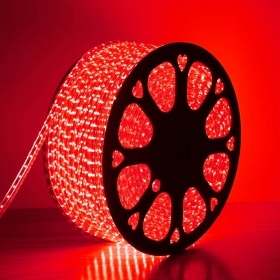 50m Rouge de Bande de Led 220V