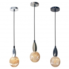 Lamp suspension pendel and Bulb elegant Vintage LED fil