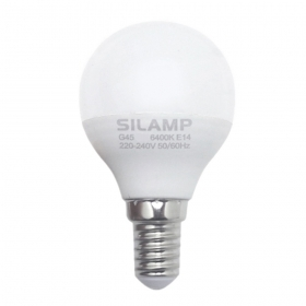 - Led bulb E14 8w miniglobo G45 220v step small attack LE14-5-6W