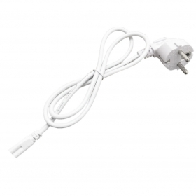 Power cable with the jack to 3pin 220v white