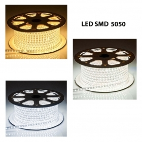Bobina 50m striscia LED smd 50