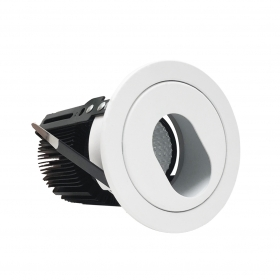 Spotlight LED recessed 15W adapter beam oval included Fi1-A14-15W
