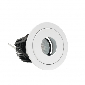 Spotlight LED recessed 15W adapter beam CIRCULAR included Fi1-A13-15W