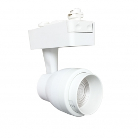 LED spotlight rail, single-PHASE 15w, adjustable cone of light with adjustable white