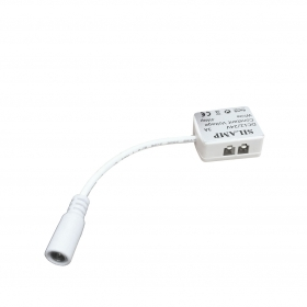 12v connector for LED bars wit