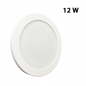 Plafoniera applique LED 12w slim disco diametro 173mm da muro, soffitto LED