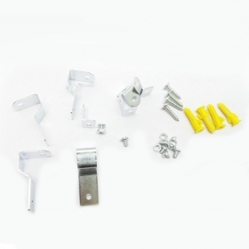 - Fixing Kit panel led Brackets S to the Wall and Ceiling Panels, Led Bracket