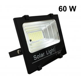 Projector Headlight-energy 60w solar with a solar panel included-DIMMABLE