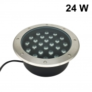 Faretto da incasso LED 24W 230v 24x1w calpestabile carrabile FE62-24W