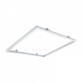 Frame fixing panel 60x60 recessed LED with soft white
