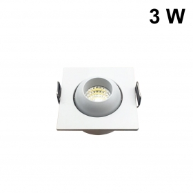 Mini projecteur LED COB 3W, Pi