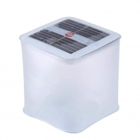 LED lantern is solar powered,