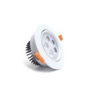 Faretto LED 5W da incasso diametro 109 mm orientabile driver incluso Fi33-5W