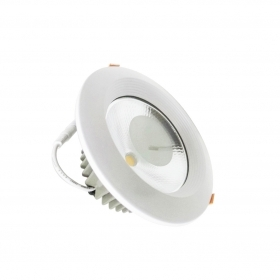 Faretto LED incasso rotondo 10W diametro 130mm cob Potente