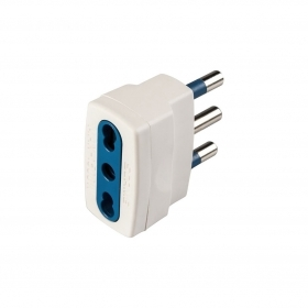 Adapter Simple With Plug 2p T