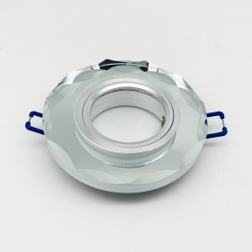 Ring spotlight GU10 for plasterboard glass Mirror