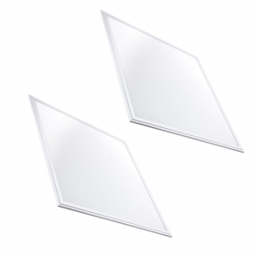 2 Pannelli slim Led 60x60 48W Bordo