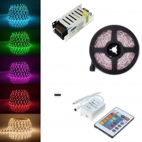 Led strip rgb strip 5metri coi