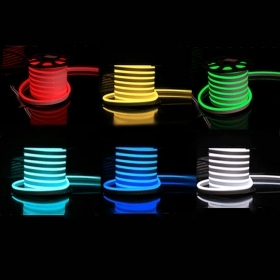 Tira de LED RGB flexible de la Mang