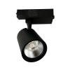 Faretto LED Nero a binario 20W Monofase faro super compatto COB FB-39-20W